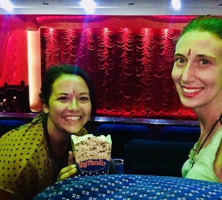 At Raj Mandir Cinema in Jaipur waiting for Baaghi 2