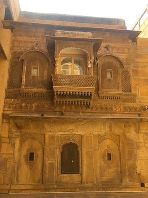 Carvings of Jaisalmer Royal Palace