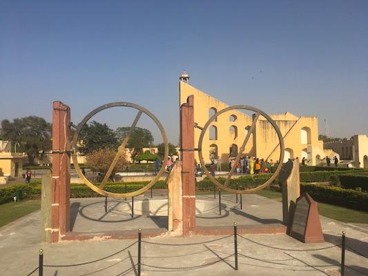 Astronomical sculptures of Jantar Mantar