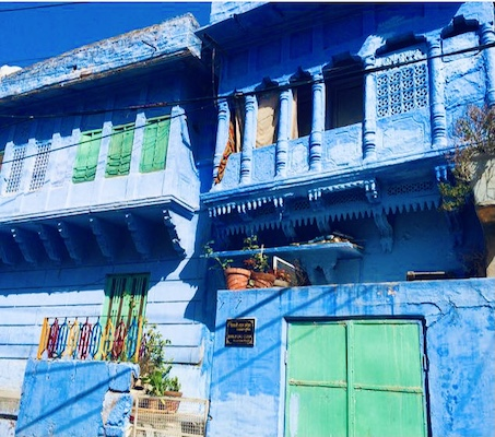 Blue houses of Jodhpur