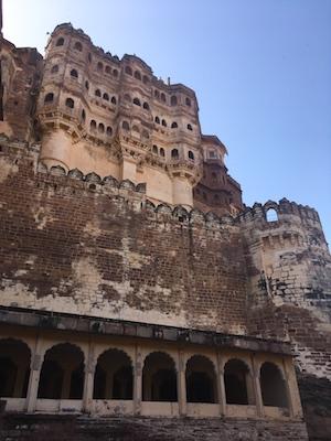 The grandeur of Mehrangarh Fort in Jodhpur