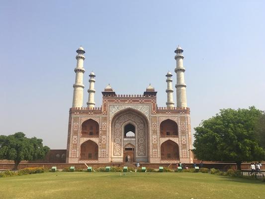Portale di ingresso della Tomba di Akbar