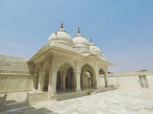 Moschea della Gemma nel Forte di Agra