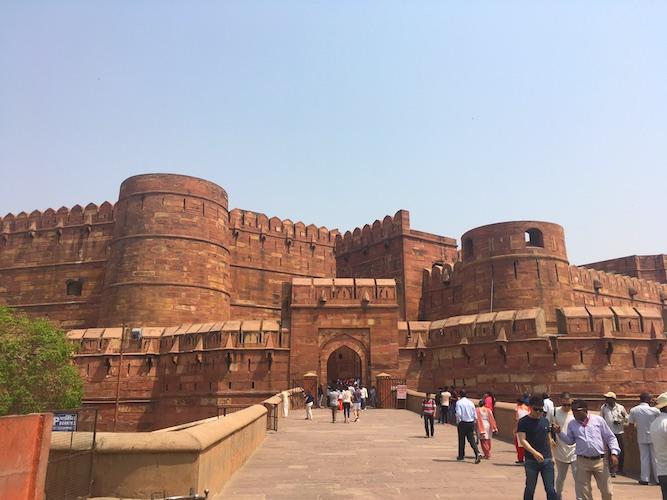 Entrata del Forte Rosso di Agra