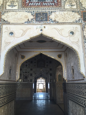 One of the Apartments of the Maharaja in Amber Fort