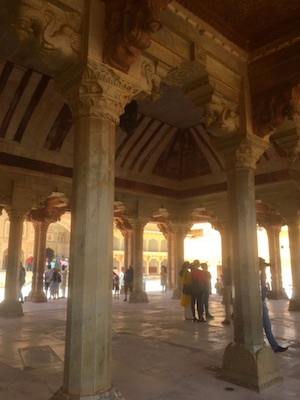 Hall of Public Audience in Amber Fort