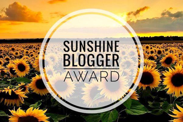 Logo del Sunshine Blogger Award