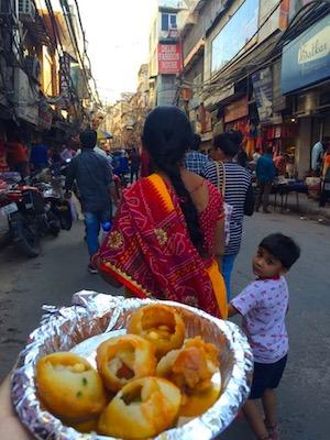 Street food di Delhi