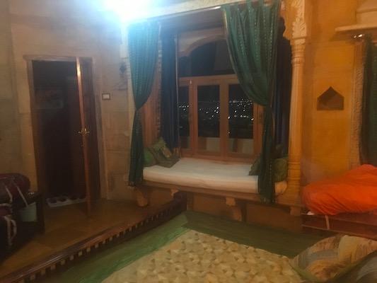 La nostra stanza nell'hotel Garh Jaisal Haveli