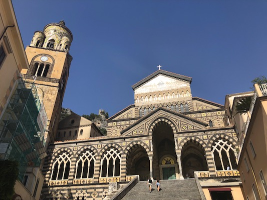 Piazza del Duomo di Amalfi, con la sua Cattedrale di Sant'Andrea