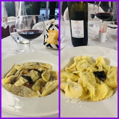 Casoncelli alla Bergamasca e Scarpinocc de Par, alla Trattoria Caironi di Bergamo, una tappa del nostro tour enogastronomico in Italia