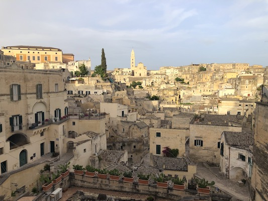 Panorama su Sasso Barisano di Matera