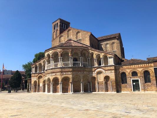 Facciata del Duomo di Murano