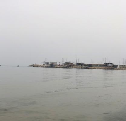 Trabocchi di Pescara sul mare