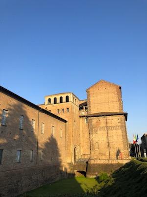 Facciata del Palazzo Farnese di Piacenza