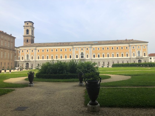 Veduta dei Giardini Reali di Torino