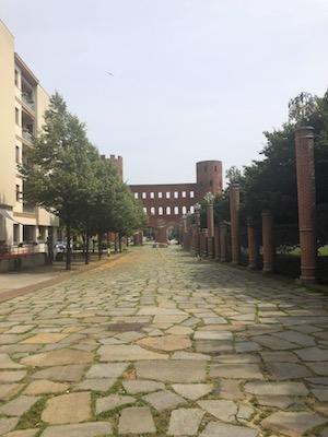 Resti del Quadrilatero Romano di Torino, incluso la Porta Palatina