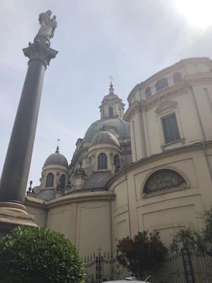Esterno del Santuario della Consolata di Torino