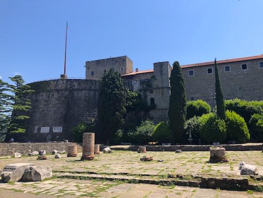 Castello di San Giusto e Rovine Romane a Colle San Giusto a Trieste