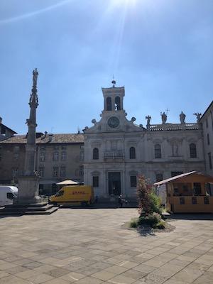 Facciata di Chiesa San Giacomo a Udine