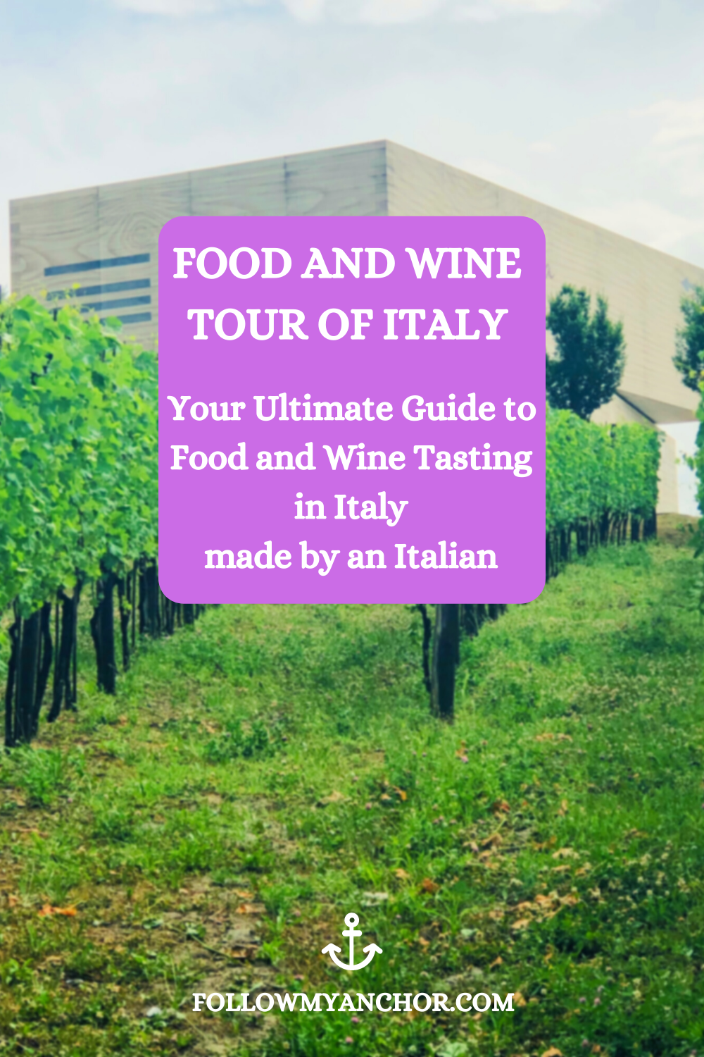 THE BEST FOOD AND WINE TOUR OF ITALY MADE BY AN ITALIAN